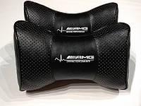 Подголовник (подушка) AMG BLACK, фото 1