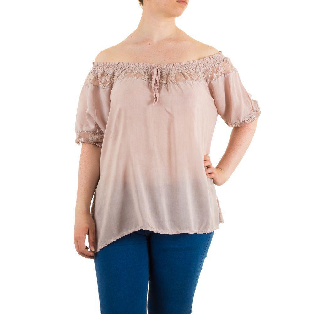 Женская блузка, размер one size - Роза - KL-6355-Роза