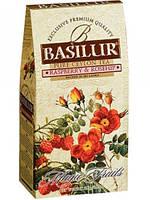 """Чай Базилур """" Волшебные фрукты """" Малина и Шиповник 100 г картон"""