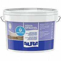 Влагостойкая акриловая шпатлевка для внутренних и наружных работ Aura Luxpro Aqua Spackel 16кг