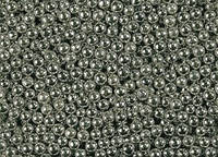 Посипка Шарики серебряные 2мм 250г.(код 01076)