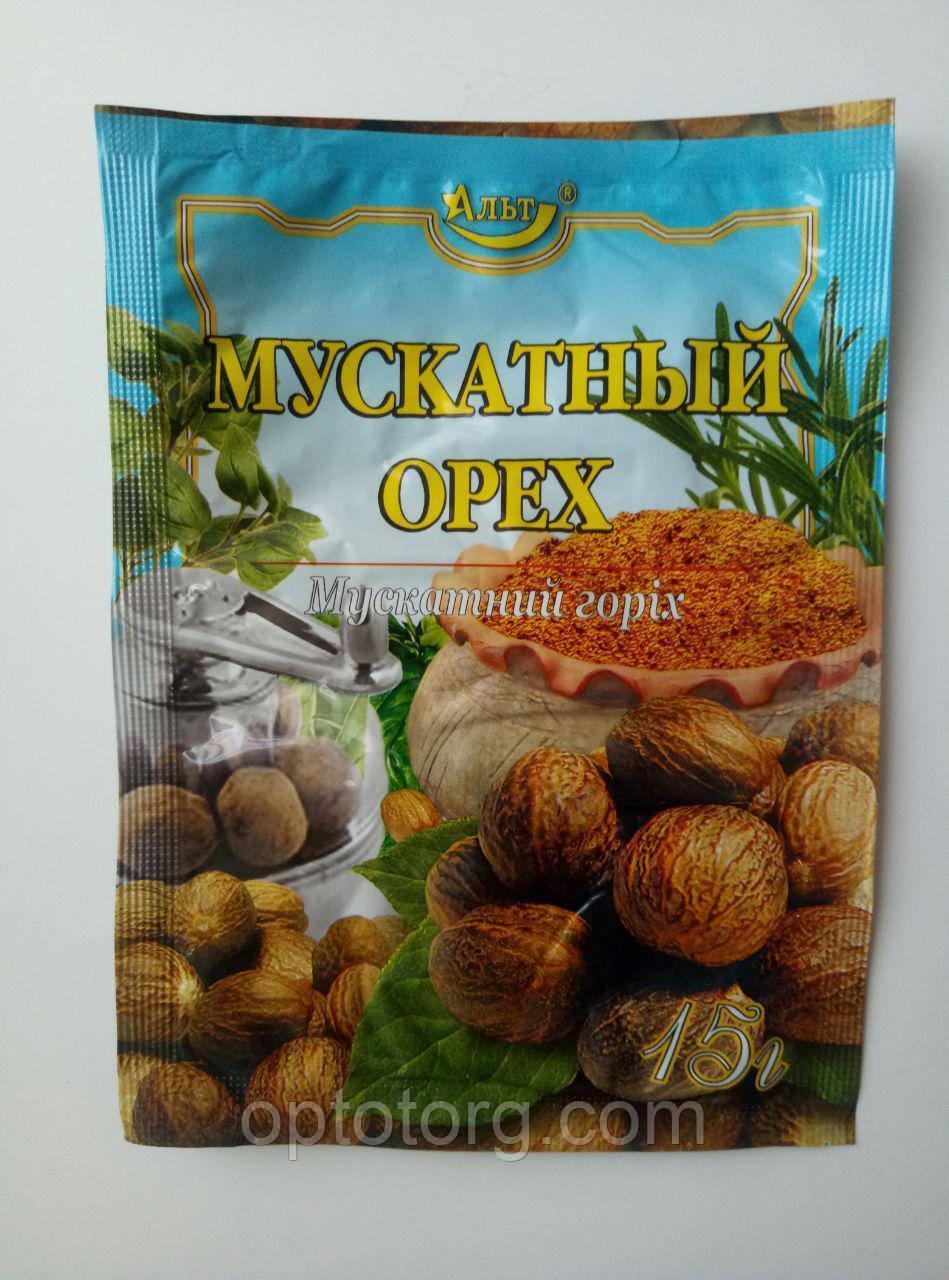 Мускатный орех целый 15 гр