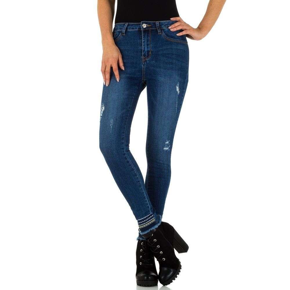 Женские джинсы от Milas - синий - KL-J-881M-синий