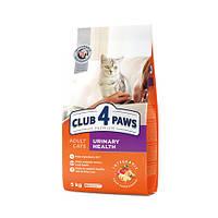 Сухой корм для кошек  Клуб 4 лапы здоровье мочевыделительной системы, 5 кг