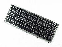 Клавиатура ноутбука Lenovo U310 NBC LV DFT3D1 RU 84 BlackKey GreySlv KBD
