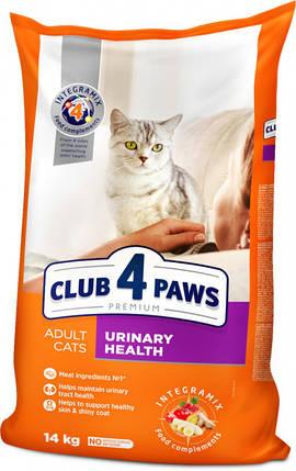 Сухой корм для кошек Клуб 4 лапы  здоровье мочевыделительной системы, 14 кг, фото 2