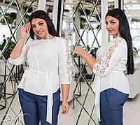 Блуза женская молодежная норма и большие размеры /ат 41232, фото 1