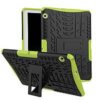 "Чехол бампер для Huawei Mediapad T3 10 AGS-L09 AGS-W09 9.6"" KAMII Shockproof Hybrid Black+Green"