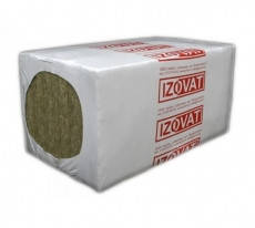 Базальтовый утеплитель Izovat 40 1000х600х100мм (3м2)
