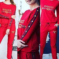 Женский спортивный костюм Gucci красный
