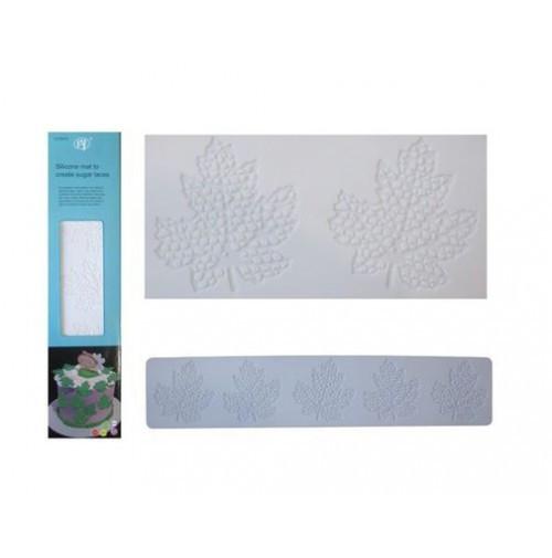 Силиконовый коврик для айсинга Листья, Галетте - 03431
