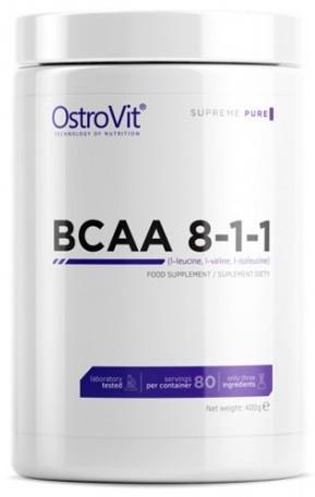Аминокислоты OstroVit - BCAA 8:1:1 (400 грамм)