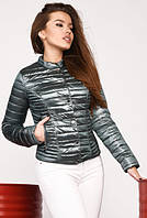 Короткая весенняя женская куртка, размер 42, ТМ X-Woyz