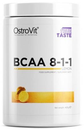 Аминокислоты OstroVit - BCAA 8:1:1 (400 грамм) 400 г, lemon/лимон