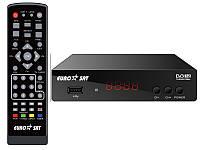 Тюнер Т2 (ТВ-ресивер) DVB-T2 EUROSAT, фото 1