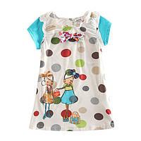 Детское летнее платье-туника от NOVA