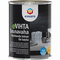 Декоративно-защитное средство для деревянных банных поверхностей Eskaro Saunavaha Vihta 0.9л