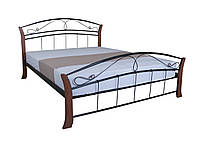 Кровать двухспальная Селена Вуд MELBI 160х200