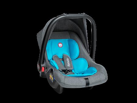 Дитяче автокрісло Автолюлька Lionelo Noa Plus (0-13 кг) Vivid Turquoise