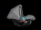 Дитяче автокрісло Автолюлька Lionelo Noa Plus (0-13 кг) Vivid Turquoise, фото 3