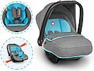 Дитяче автокрісло Автолюлька Lionelo Noa Plus (0-13 кг) Vivid Turquoise, фото 6