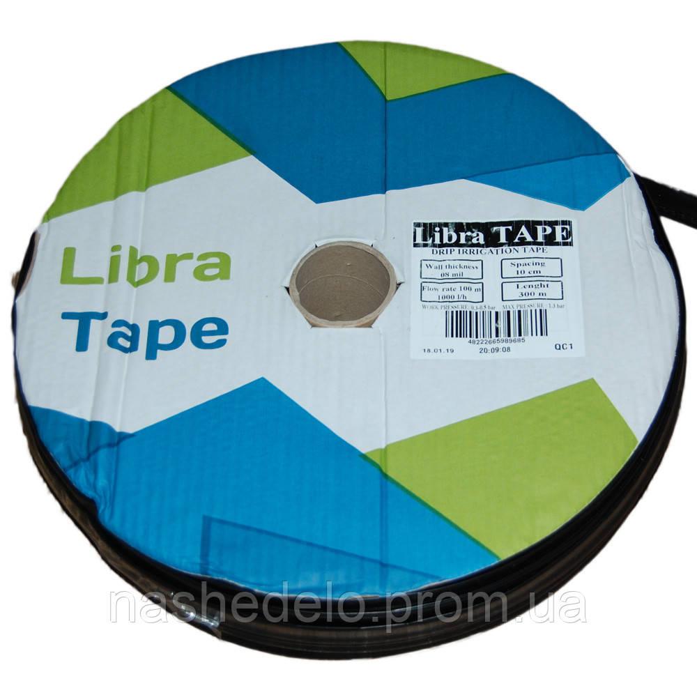 Капельная лента  Либра Тейп (Libra Tape) 8 х 10  ( 500 м) 1,0 л\ч ЩЕЛЕВАЯ
