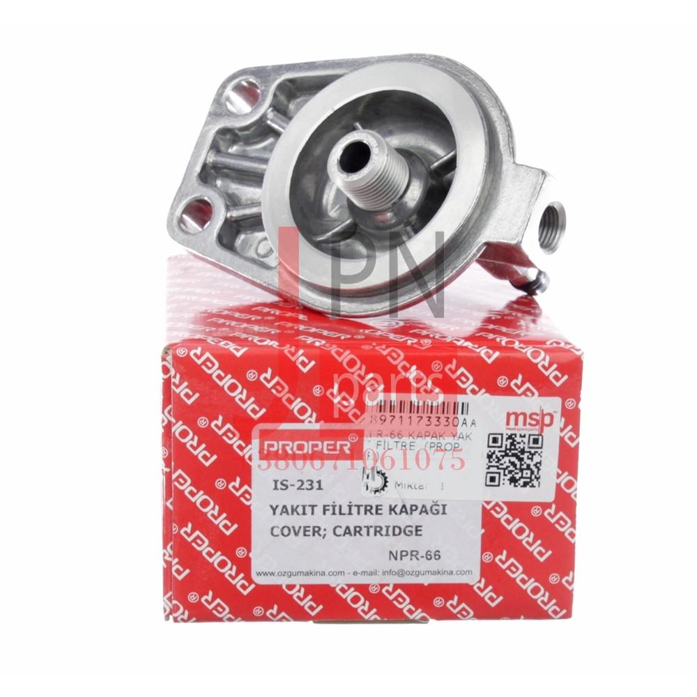 Кришка паливного фільтра тонкого очищення 4HG1/4HG1T/4HE1T/4HF1 БОГДАН E1/E2/E3 (Корпус) (IS231) PROPER