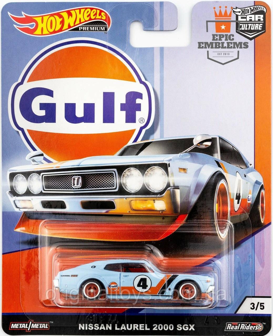 Коллекционная машинка Hot Wheels Nissan Laurel 2000 GSX