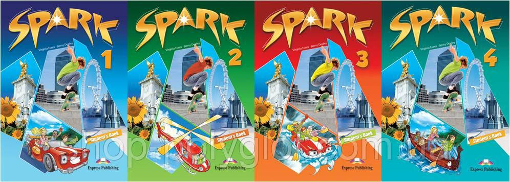 Spark 1-4 (Student's Book + Workbook)