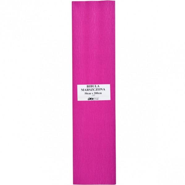 Бумага «OK OFFICE» гофрированная розовая