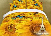 Постельное белье Love You Солнце Двуспальный евро комплект