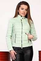 Легкая короткая демисезонная женская куртка, ТМ X-Woyz