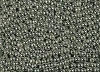 Посипка Шарики серебряные 3мм 250г.(код 01077)