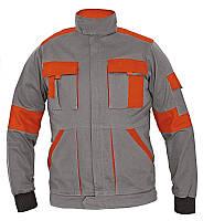 Куртка рабочая Červa женская MAX LADY демисезонная серый с оранжевым