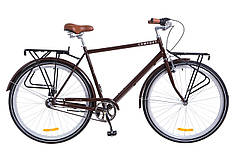 """Городской велосипед 28"""" Dorozhnik COMFORT MALE PH 2018 (коричневый) OPS-D-28-109"""