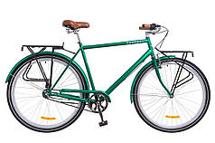 """Городской велосипед 28"""" Dorozhnik COMFORT MALE PH 2018 (зеленый) OPS-D-28-107"""