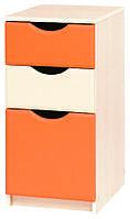 """Тумба в дитячу  """"Саванна"""" від Світ меблів (оранж)."""
