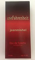 Мужские мини духи jeanmishel Love Fahrenheit 10ml оптом