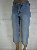 Капрі жіночі джинсові 1817.17 світло-сині 26
