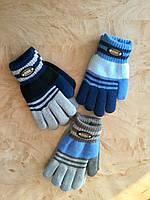 Перчатки для мальчика двухслойные