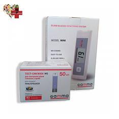 Глюкометр Gamma Mini + 50 тест полосок