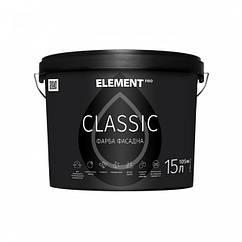 Матовая фасадная краска Element Pro Classic 15л