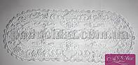 Салфетка вязанная Паутинка 30х45 см