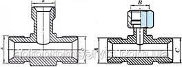 Штуцер тройник S17 (М14х1.5-М14х1.5-М14х1.5)