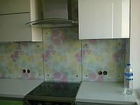 Скинали - стеновая панель для кухни из стекла