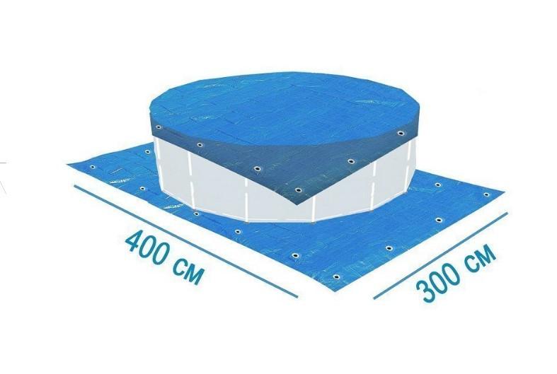 Тент подстилка X-Treme 28901 для бассейна 400 х 300 см