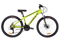 """Горный велосипед 26"""" Formula THOR 2.0 DD 2019 (салатно-черный с бирюзовым (м)) OPS-FR-26-272"""