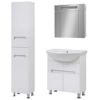 Комплект мебели для ванной комнаты Марко 70 с зеркальным шкафом Z-70 Юввис