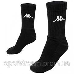 Носки Kappa socks черные 3-пары