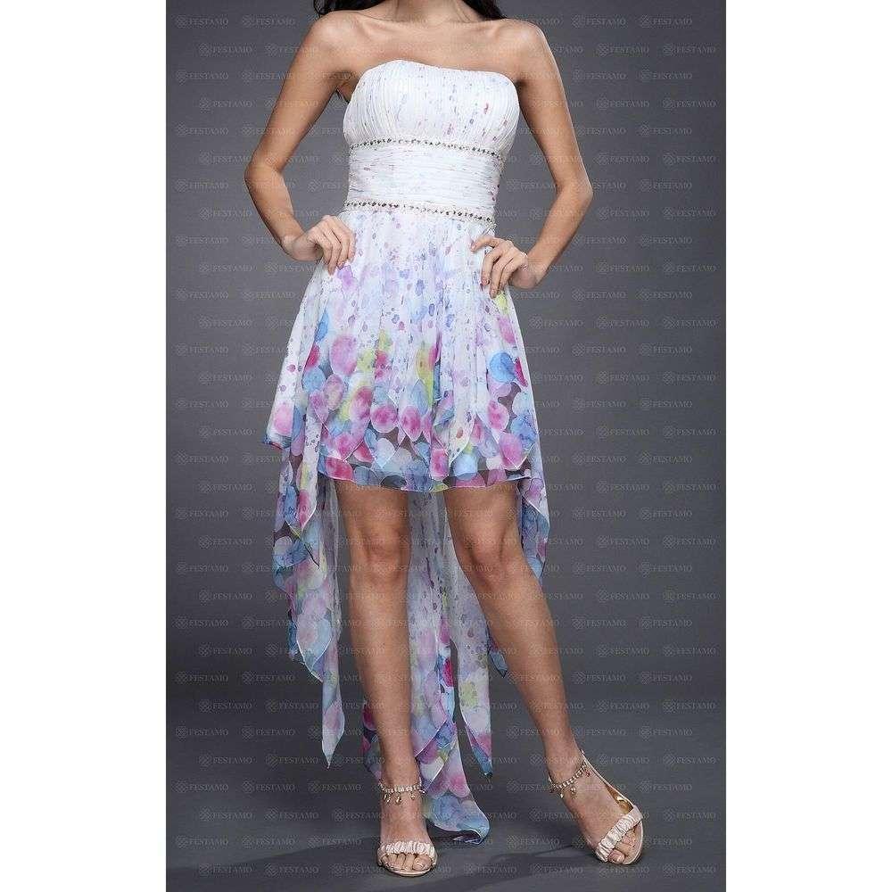Женское платье от Festamo - мульти - Мкл-F2663-мульти